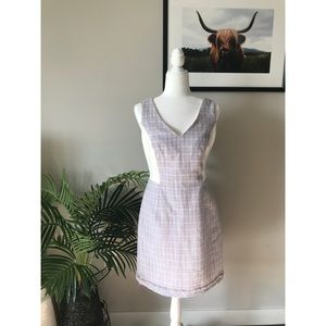 WHBM Tweed A-Line Dress